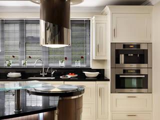 Belgravia | Rich Walnut Modern Kitchen Davonport ห้องครัว White