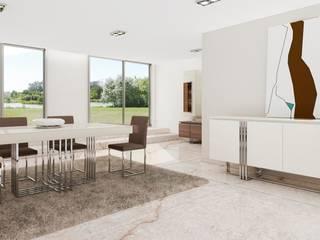 Mobiliário de sala de jantar / Dining room furniture Phillip:   por Intense mobiliário e interiores;