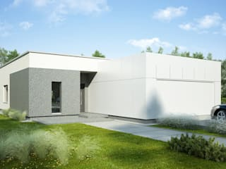 Projekty domów - House 11 Majchrzak Pracownia Projektowa Nowoczesne domy