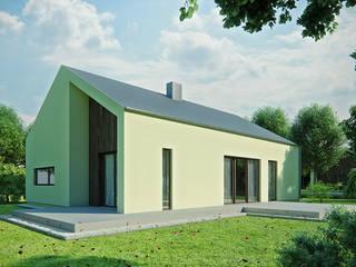 Projekty domów - House 13 Majchrzak Pracownia Projektowa Nowoczesne domy