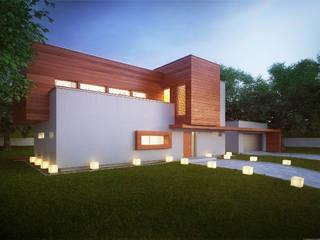 Projekty domów - House x02 Majchrzak Pracownia Projektowa Nowoczesne domy