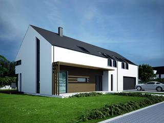Projekty domów - House 20 Majchrzak Pracownia Projektowa Nowoczesne domy