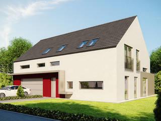 Projekty domów - House 07 Majchrzak Pracownia Projektowa Nowoczesne domy