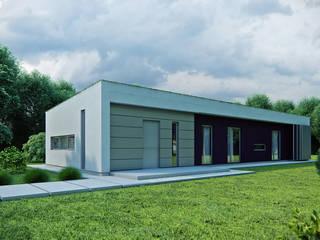 Projekty domów - House 15 Majchrzak Pracownia Projektowa Nowoczesne domy