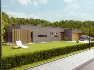 Projekty domów - House 04 Majchrzak Pracownia Projektowa Nowoczesne domy