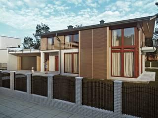 Projekty domów - House 10.1 Majchrzak Pracownia Projektowa Nowoczesne domy
