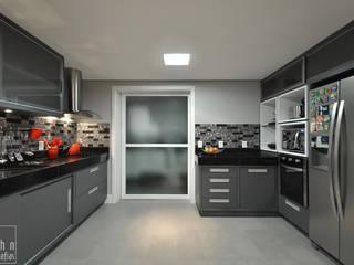 Cocinas de estilo moderno de Tamara Rodriguez Aquitetura Moderno