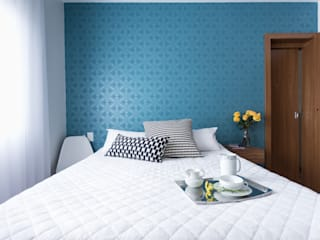 Camera da letto moderna di homify Moderno Carta