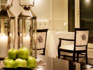 Hotel Bernini Bristol-Roma Sala da pranzo eclettica di Giada Marchese-architetto & hospitality designer Eclettico