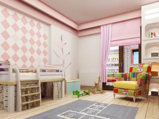 Детская комната в стиле модерн от Murat Aksel Architecture Модерн