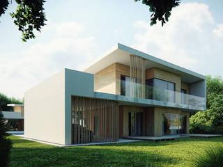 Projekty domów - House 08 Majchrzak Pracownia Projektowa Nowoczesne domy