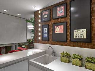 Cocinas de estilo  por Isabela Canaan Arquitetos e Associados, Moderno