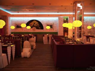 Asiatische Gastronomie von Студия интерьерного дизайна happy.design Asiatisch