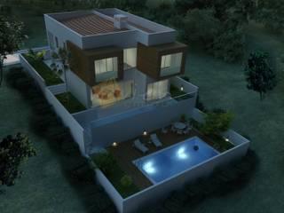Murat Aksel Architecture – Villa:  tarz Evler