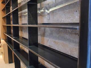Bibliothèque asymetric par Tom Création Moderne