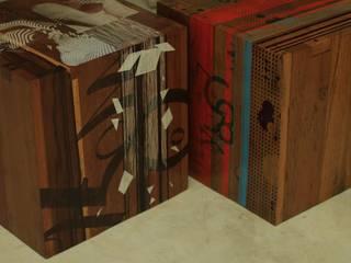Cubos por Infinitta - arte | design | arquitetura | interiores | vm Rústico