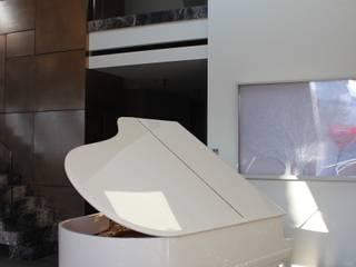 Salas / recibidores de estilo  por SMART LIVING GmbH, Moderno