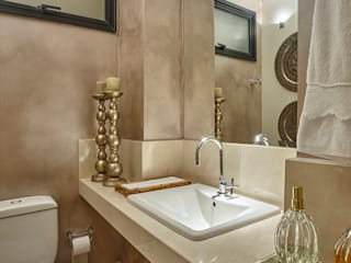 Casas de banho modernas por Isabela Canaan Arquitetos e Associados Moderno
