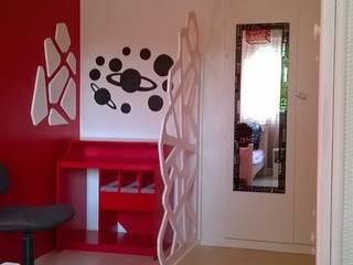 l'espace de travail: Chambre de style  par studiomaxdesign