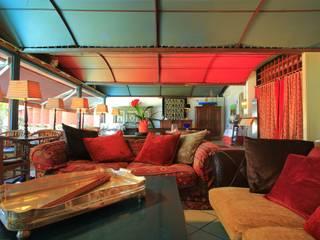 Portorais Hotel-Palermo Ingresso, Corridoio & Scale in stile mediterraneo di Giada Marchese-architetto & hospitality designer Mediterraneo