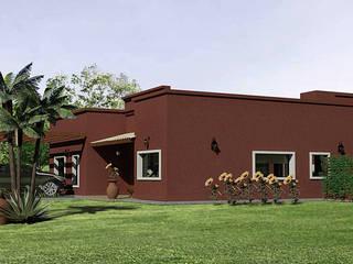 Casa Country Rustica:  de estilo  por Rohe Arquitectura+Diseño