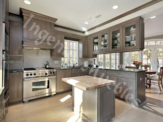 Modern kitchen by Ingenio muebles Modern Wood Wood effect