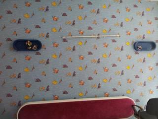Egzotyczna sypialnia od Decor At Door Egzotyczny