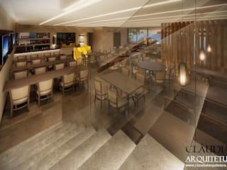 Projeto Comercial: Salas de jantar  por Cláudia F Arquitetura,