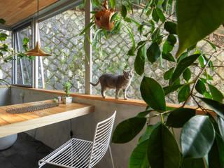 Modern balcony, veranda & terrace by Nobuyoshi Hayashi Modern