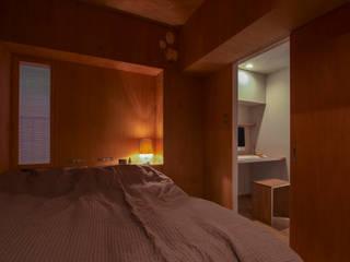 Dormitorios modernos de Nobuyoshi Hayashi Moderno