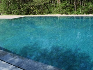 Classic style pool by Luserna Stone Classic