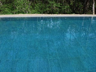 Luserna Stone Classic style pool Stone Green
