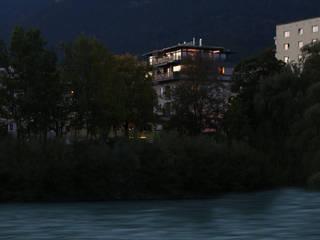 Aufstockung Wohnhaus: moderne Häuser von U1architektur