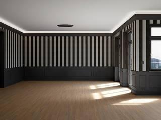 Phòng khách phong cách kinh điển bởi makasa Kinh điển