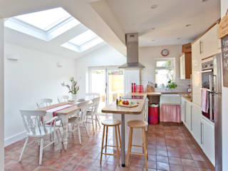 London Hip To Gable Loft Conversion and Extension A1 Lofts and Extensions Dapur Modern