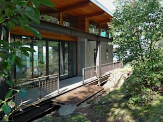 Buck Mountain House, Indigo, USA | Viroc Country style walls & floors by Viroc Country