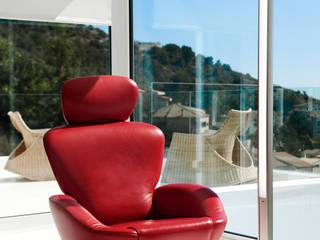 Pujol Iluminacion 现代客厅設計點子、靈感 & 圖片