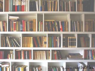 Szafawawa WohnzimmerRegale Weiß