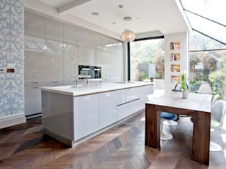Richmond Full House Refurbishment A1 Lofts and Extensions Minimalist kitchen