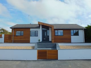 Stay House Remodel, Widemouth Bay, Cornwall Moderne Häuser von The Bazeley Partnership Modern