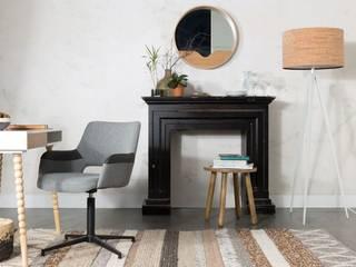Syl stoel grijs/zwart - Zuiver: modern  door Robin Design, Modern