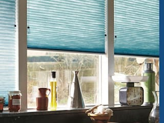 Persianas Hunter Douglas Cocinas minimalistas de Dekorier Interiores Minimalista