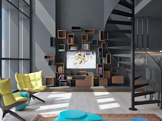 by FEDOROVICH Interior Industrial