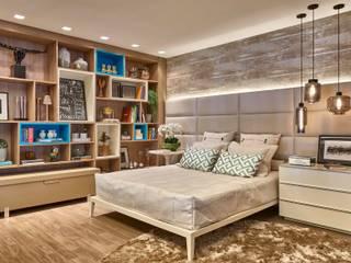 Camera da letto in stile  di Lider Interiores, Moderno