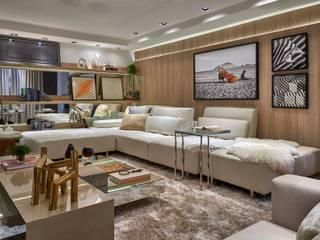 Decora Lider Rio de Janeiro - Sala de TV Salas de estar modernas por Lider Interiores Moderno