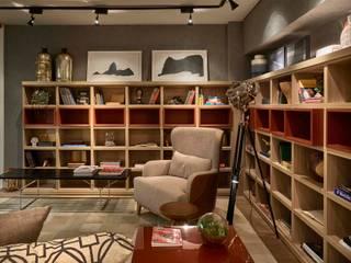 Decora Lider Rio de Janeiro - Sala Íntima do Casal Salas de estar modernas por Lider Interiores Moderno