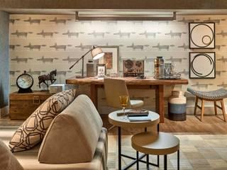 Гостиная в . Автор – Lider Interiores, Модерн