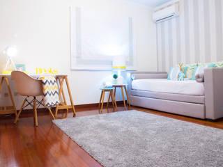Ângela Pinheiro Home Design Scandinavian style bedroom