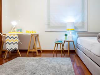 Ângela Pinheiro Home Design Nursery/kid's room Wood Multicolored