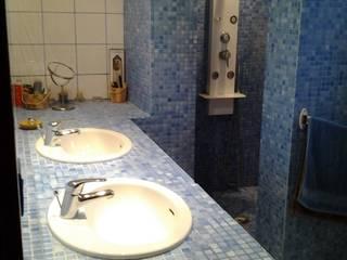 Salle d'eau contemporaine par Emilie Granato Architecture d'intérieur Moderne